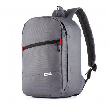 Рюкзак 40x25x20 J-Satch S Gray (Wizz Air / Ryanair) для ручной клади, для путешествий