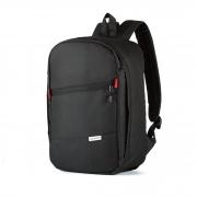 Рюкзак 40x25x20 J-Satch S Black (Wizz Air / Ryanair) для ручной клади, для путешествий