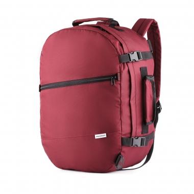 Рюкзак-сумка 50x35x20 трансформер J-Satch M Bordo