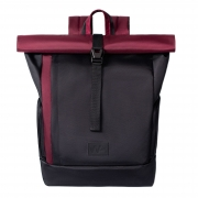 Рюкзак Kane Roll Black-Bordo (laptop 17)