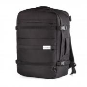 Рюкзак-сумка 55x40x20 трансформер Traveller Black для ручной клади