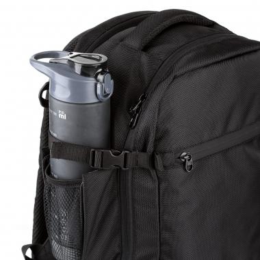 Рюкзак-сумка 40x20x25 Monaco Black (Wizz Air / Ryanair) для ручной клади, для путешествий