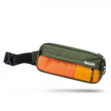 Поясная сумка Topo Green-Orange-Yellow