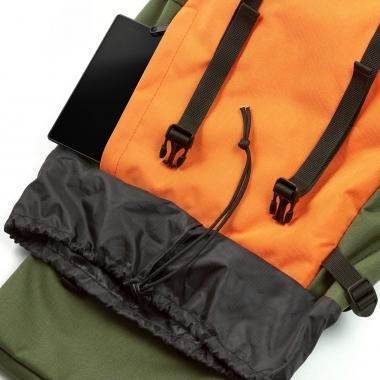 Рюкзак 44x30x20 Rover Orange-Green для путешествий