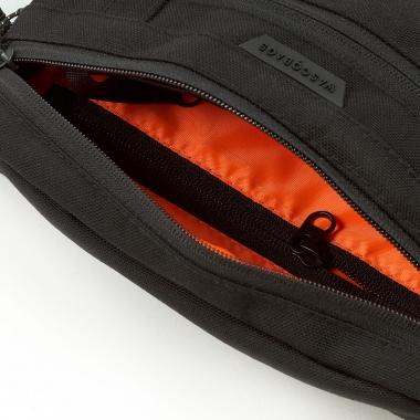 Поясная сумка Hide Black