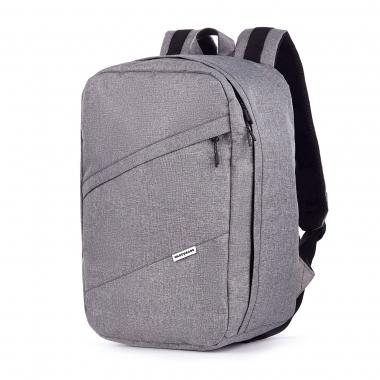 Рюкзак 40x25x20 RW Mel-Gray (Wizz Air / Ryanair) для ручной клади, для путешествий