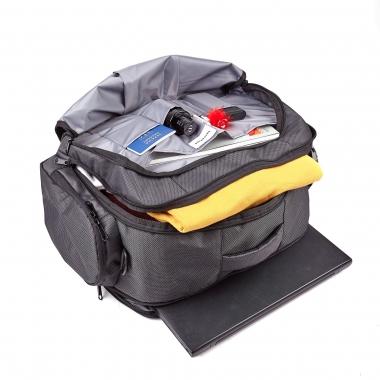 Дорожная сумка Atlantic 55х35х20 Dark-Gray (39 L), ручная кладь