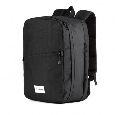 Рюкзак 40x25x20 RW Laptop Black (Wizz Air / Ryanair) для ручной клади, для путешествий